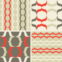 Seamless  patterns waves