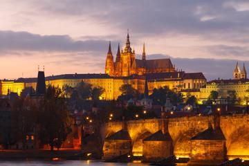 View of Prague Castle. Czech Republic.
