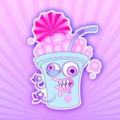 crazy cute milkshake