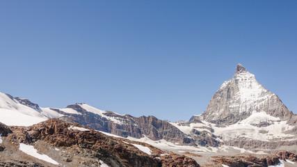 Zermatt, Dorf, Walliser Berge, Alpen, Berggipfel, Schweiz