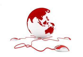 Asia en la web