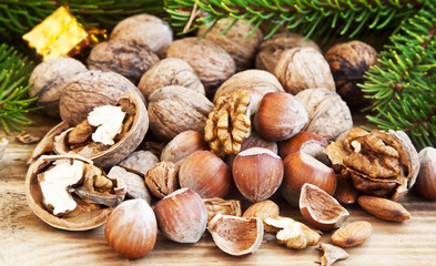 Walnuts and Hazelnuts