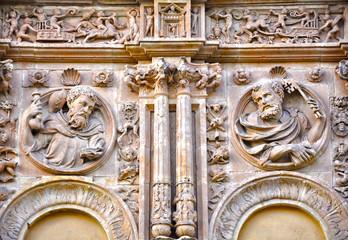 Salamanca, Iglesia de Sancti Spiritus, plateresco