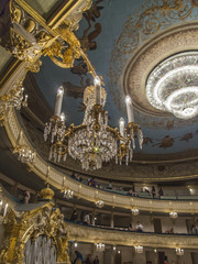 St. Petersburg, Russia. Maryinsky Theater, interior details