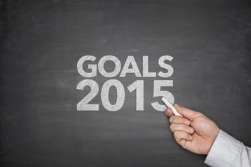 Goals 2015 on blackboard