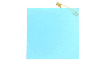 Blue post-it notes