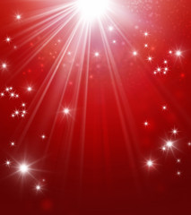 abstract shiny red festive background