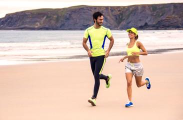 Runner couple