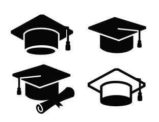 graduation map icon