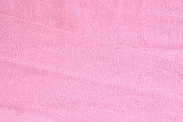 pinkfarbener Leinenstoff