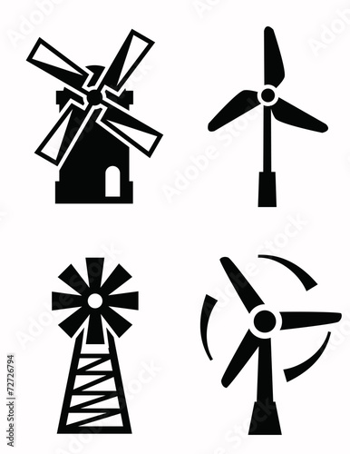windmill icons - 72726794