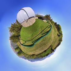 Little planet con osservatorio