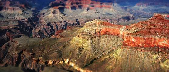 Falaises du Grand Canyon USA