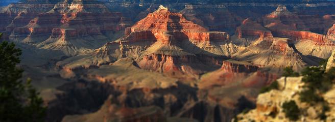 Panorama tilt shift du Grand Canyon
