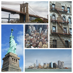New - York collage