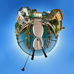 Gardone Riviera little planet