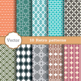 Fototapety set of seamless patterns.Used for wallpaper, print