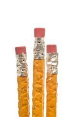 Three Chewed-up Pencils