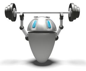 Robot con bilanciere