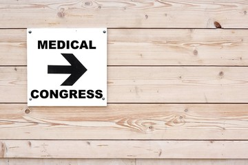 MEDICAL CONGRESS Sign