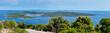 Panoramic view of Ilovik island