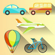 Transportation flat icon