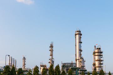 industrial of oil petrochemical factory