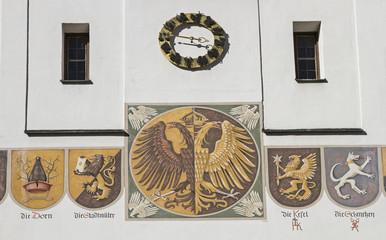 Rathaus in Kempten - Detailansicht