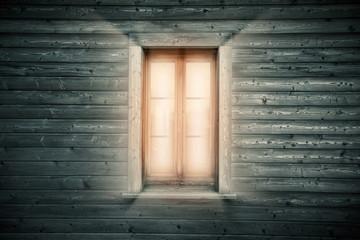 Leuchtendes Fenster
