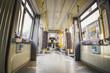 Inside of an electric train in Berlin - 72738356