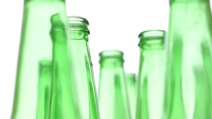 Bottles Green Recycling Standing Zoom