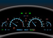 Car dashboard background - 72739122