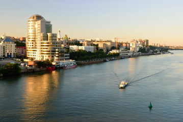 Embankment of Rostov-on-Don. Russia.