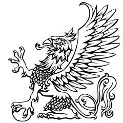 Heraldry griffin
