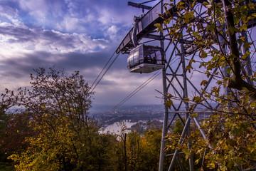 Kabinenseilbahn in Koblenz