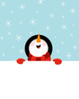 Snowman's Message - 72740324