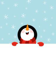 Snowman's Message
