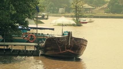 Sri Lanka  Asian boat lake