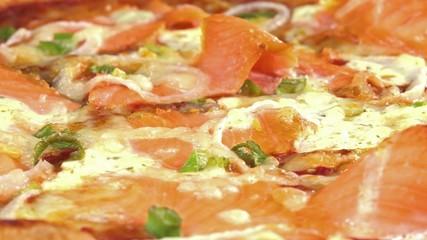 Rotating Salami Pizza (loopable)