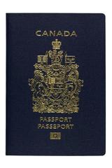 Isolated New Canadian ePassport