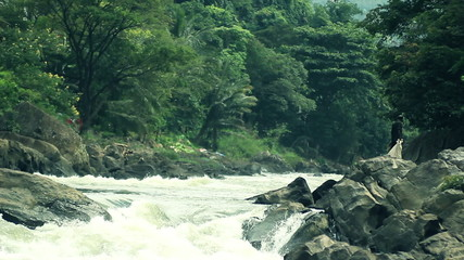 stormy river, a great place for hiking and rafting