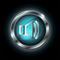 speaker symbol vector icon