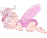 Fototapety Sleeping pixy fairy