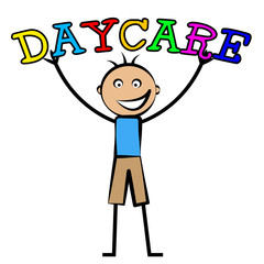 Day Care Represents Childrens Club And Children's