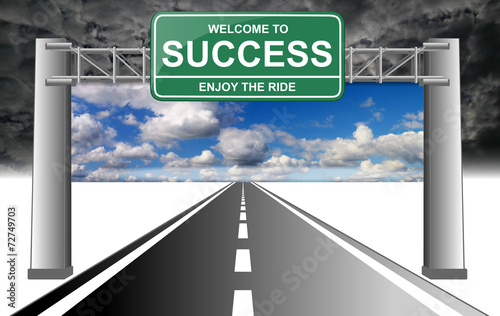welcome to success enjoy the ride 2 sky with clouds 2