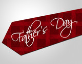 Fathers Day Tie Represents Parenting Cheerful And Fatherhood poster