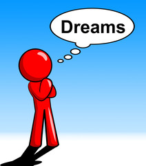 Character Thinking Dreams Shows Consider