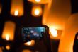 Flying Lanterns Selfie - 72751141