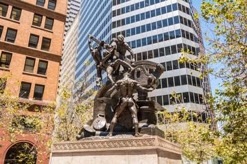 The Mechanics Monument, San Francisco