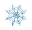 Leinwandbild Motiv Toy snowflake